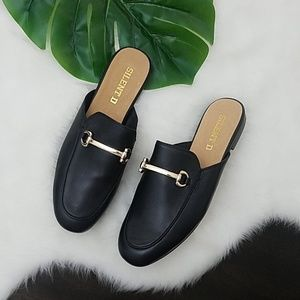 Free People Loafer Mules